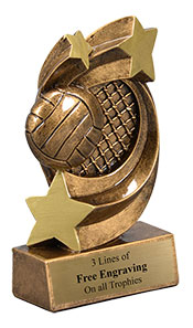 Volleyball Star Performer Trophy